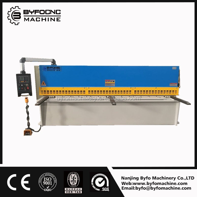 E21S control carbon plate guillotine shears,CNC hydraulic metal plate cutting machine for sale