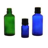 High Quality Vials Wholesale 10ml Tamper Resistant Cap Blue Glass Dram Vials Diffusing Perfume, Essential Oil, Vapor