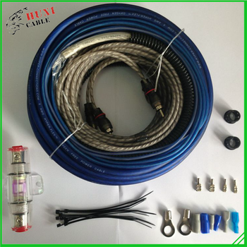 Low price 4GA Car Audio Amp wiring Kit