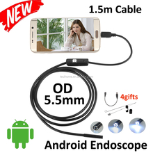 Newest 1.5M Waterproof USB Endoscope Camera For Android Mobile/ Windows