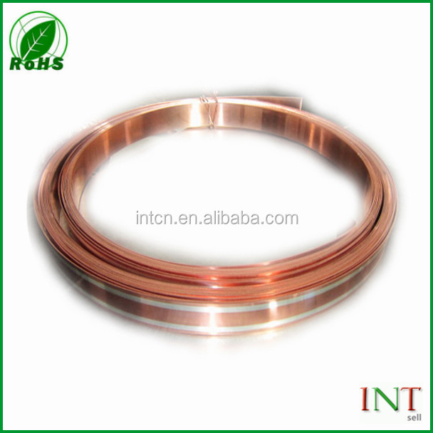 electrical thermostat material soft temper bimetal strip