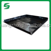 black high strength texture plastic slip sheet for pallet