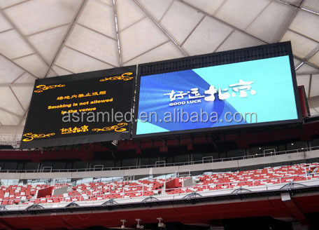 P10 full color led display screen for Basketball stadium advertising display