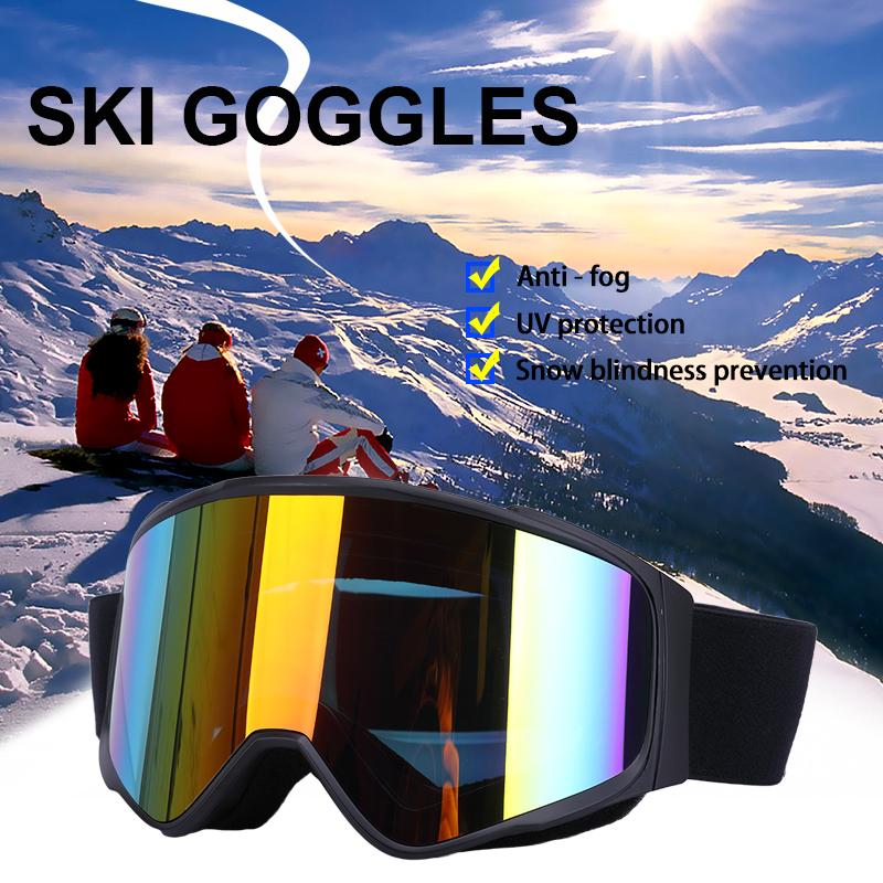 Frameless Polarizada Óculos De Esqui Snowboard