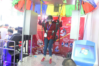 Skydiving / bunge jumping 360 degree view 9d vr indoor skydiving Virtual Reality brand new business