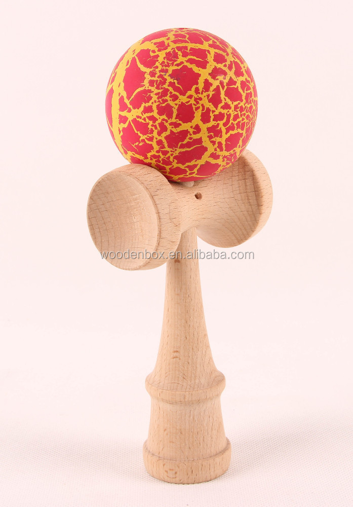 Original crackle kendama for wholesale