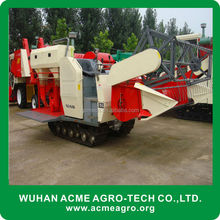 China factory price mini wheat rice soybean grain harvest machine/mini wheat rice combine harvester /mini wheat rice harvester