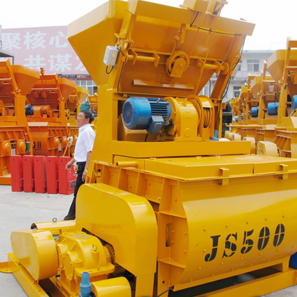 high quality JS500 concrete mixer machine tools