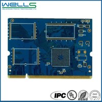 double layer hard disk pcb board