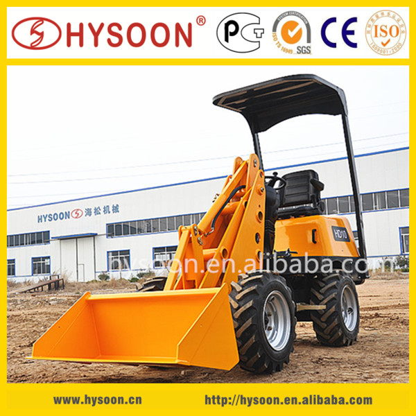 0.3 cube meter bucket loader, 1t operating capacity, 2100mm high lift bucket loaders for sale