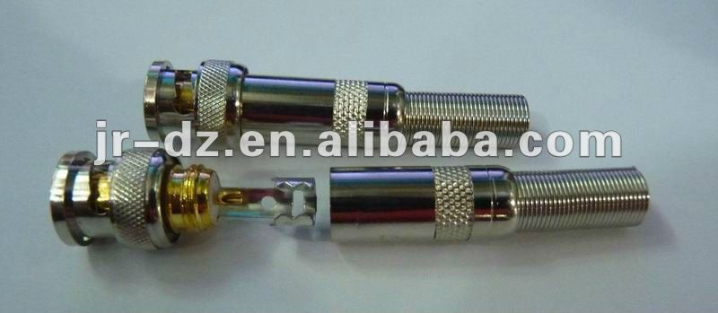BNC Connector (Metal Spring) BNC Connector (Screw Type - Spring)