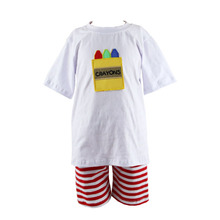 wholesale best selling fahion children cap cartton knit crayons stripe sets