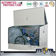 Backyard individual steel bike parking locker safe bicycle locker