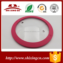 Colorful Silicone Tempered Glass Pot Lid Glass Cover