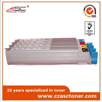 Compatible color toner cartridge for OKI 910