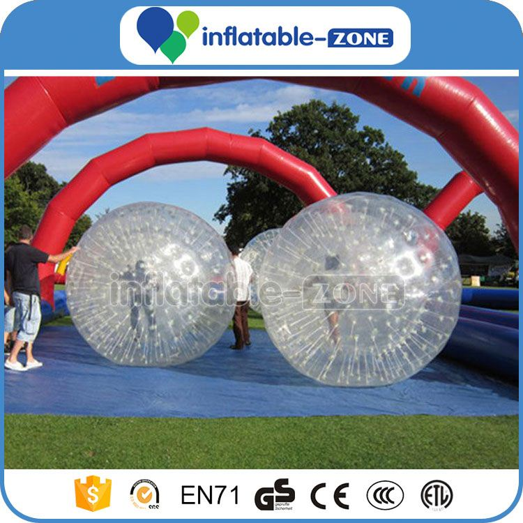 Top grade rolling grass walking zorb ball grass hamster ball bumper ball bubble soccer football zorbs