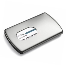 Metal ID Card Bank Credit Card Business Name Card Holder Cases