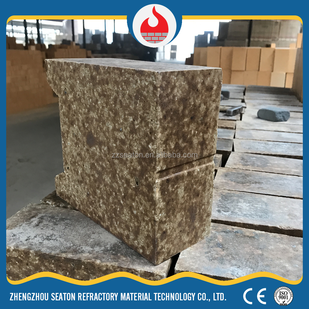 2017 hot selling silica-mullite red refractory brick