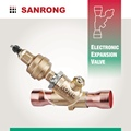 Sanrong SEY-250 Electronic Expansion Valve with 12V DC Stepping Motor, ETS-250, Carel E6V, Emerson EX8 Electrical Control Valve