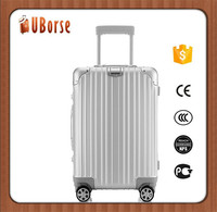 "100 percent aluminum top brand travel trolley luggage bags with 20 "" 24 "" 28 """