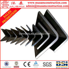 ASTM standard weight of ms steel angle bar from China Tianjin