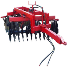 Hydraulic offset heavy duty disc harrow