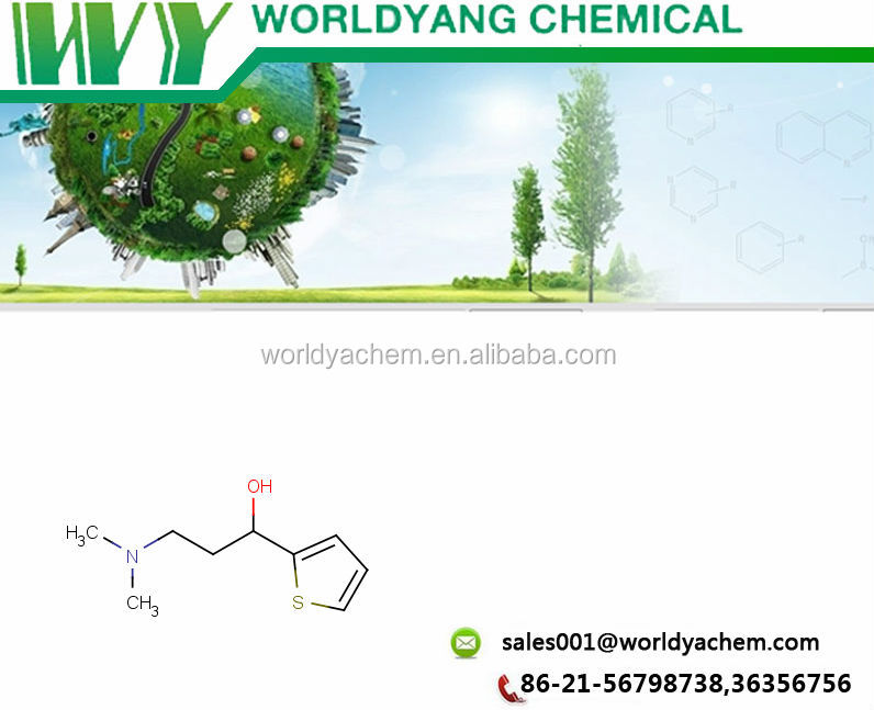 Duloxetine Intermediate/ (S)-(-)-N,N-Dimethyl-3-hydroxy-3-(2-thienyl)propanamine CAS NO.: 132335-44-5
