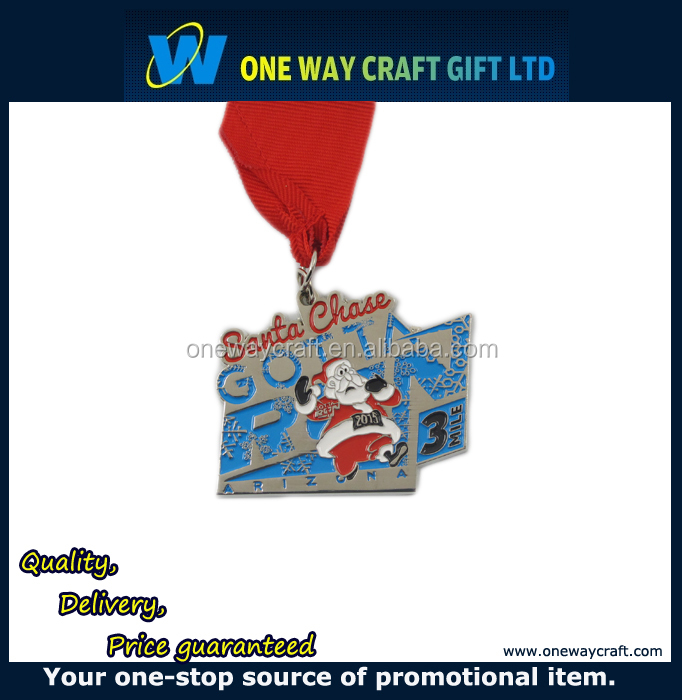 Wholesale Metal Medals Producer, custom Making Awards Metal Sports Medal For Christmas
