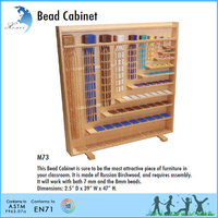 EN 71 promotion kindergarten montessori bead cabinet/ montessori teaching aids/bead frame