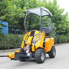Chinese Mini Backhoe Wheel Loader; Mini Tractors with Front End Loader; Small Loader Compact Digger for Sale