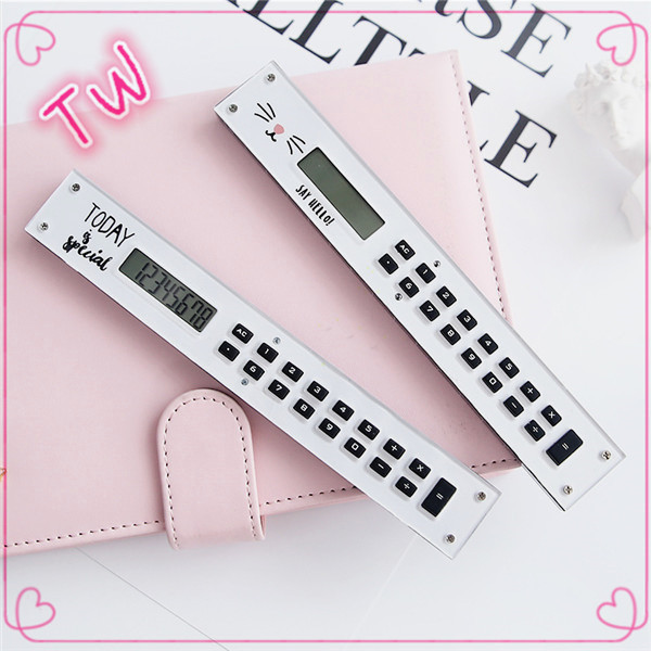 Factory price Promotional cute fancy mini plastic battery calculator for Office & School Supplies
