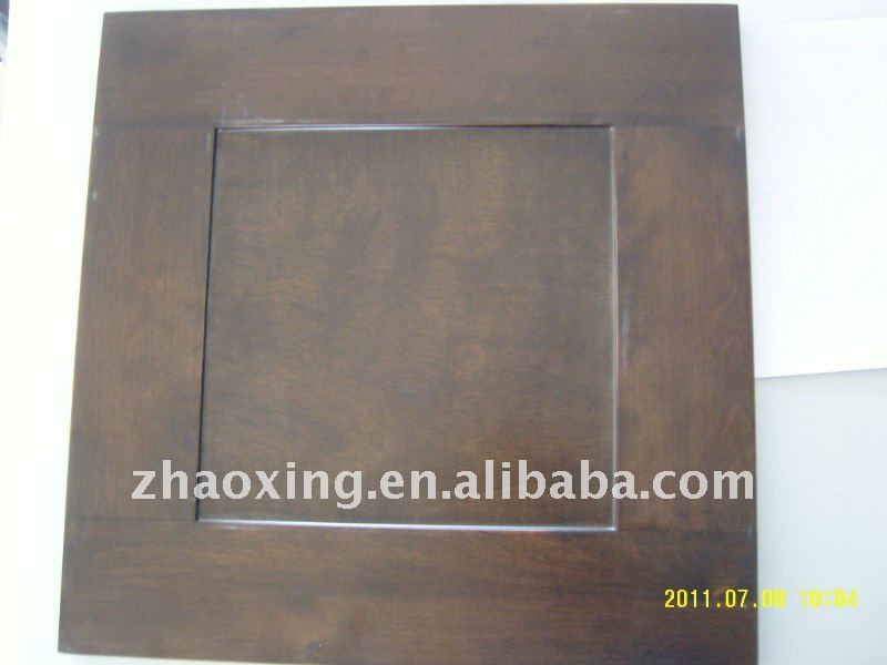 lacquered flat panel wood doors