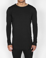 online shopping india men blank long sleeve longline tall t shirts