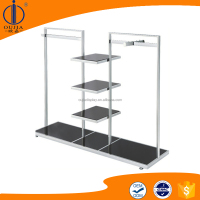 high quality shirt hanging stand/clothes display rack/shirt rack standing