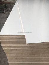 melamine faced plywood 1220*2400*18mm hard <strong>wood</strong> core wbp