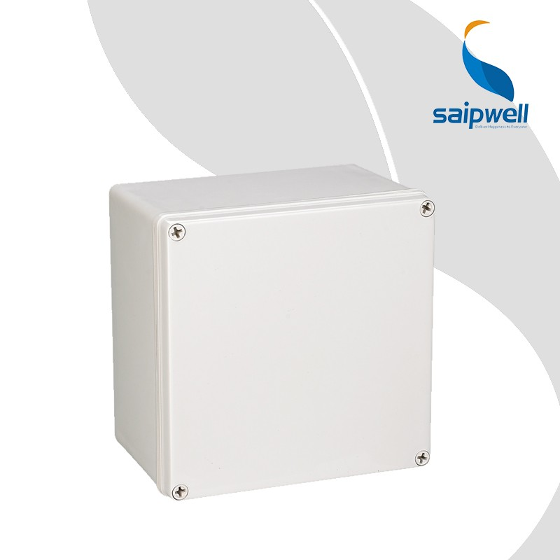 High Quality CE Approval Electirc Waterproof Hinged Plastic Box, IP65 Plastic Waterproof Junction box,
