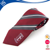 2012 red black fashion skinny stripe man tie wholesale