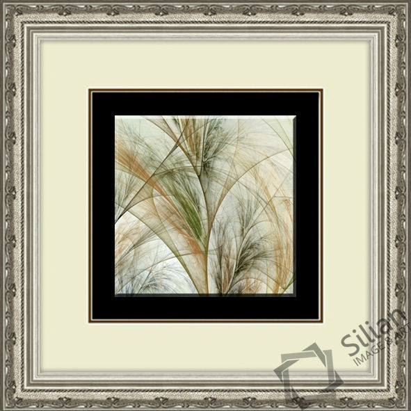 Fractal Grass Line Abstract Crystal Arts Decoration Picture Of Frame 4