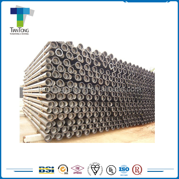 Wholesale standard black ductile iron pipe specifications