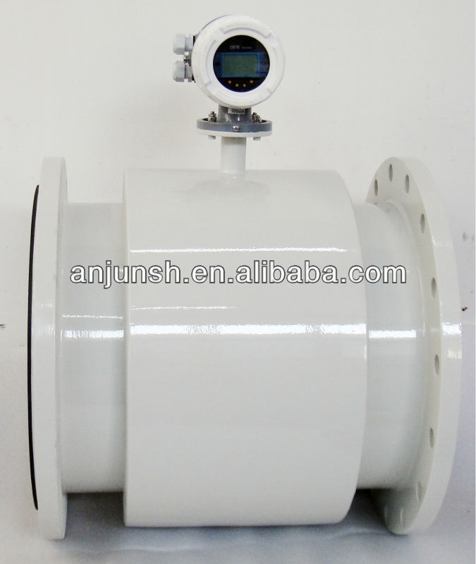 AMF Series Compact Electro magnetic Flowmeters With GPRS, Pulse, 4-20mA signal output