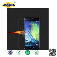 Real Tempered glass Screen Protector 0.3mm 2.5D 9H for Samsung Galaxy A5 2016 ----- Laudtec