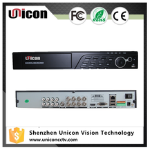 Unicon Vision hd high quality home security dvr,support 5 in one function AHD/TVI/CVI/Analog/IP Camera