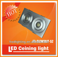 eco-friendly 2W Cree led ceiling light pot light design