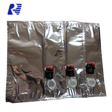 1L 2L 3L aluminium foil bag liquid coffee and wine bag in box with valve