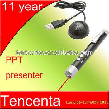 High Quality wireless usb remote laser presenter for PPT powerpoint TB-01