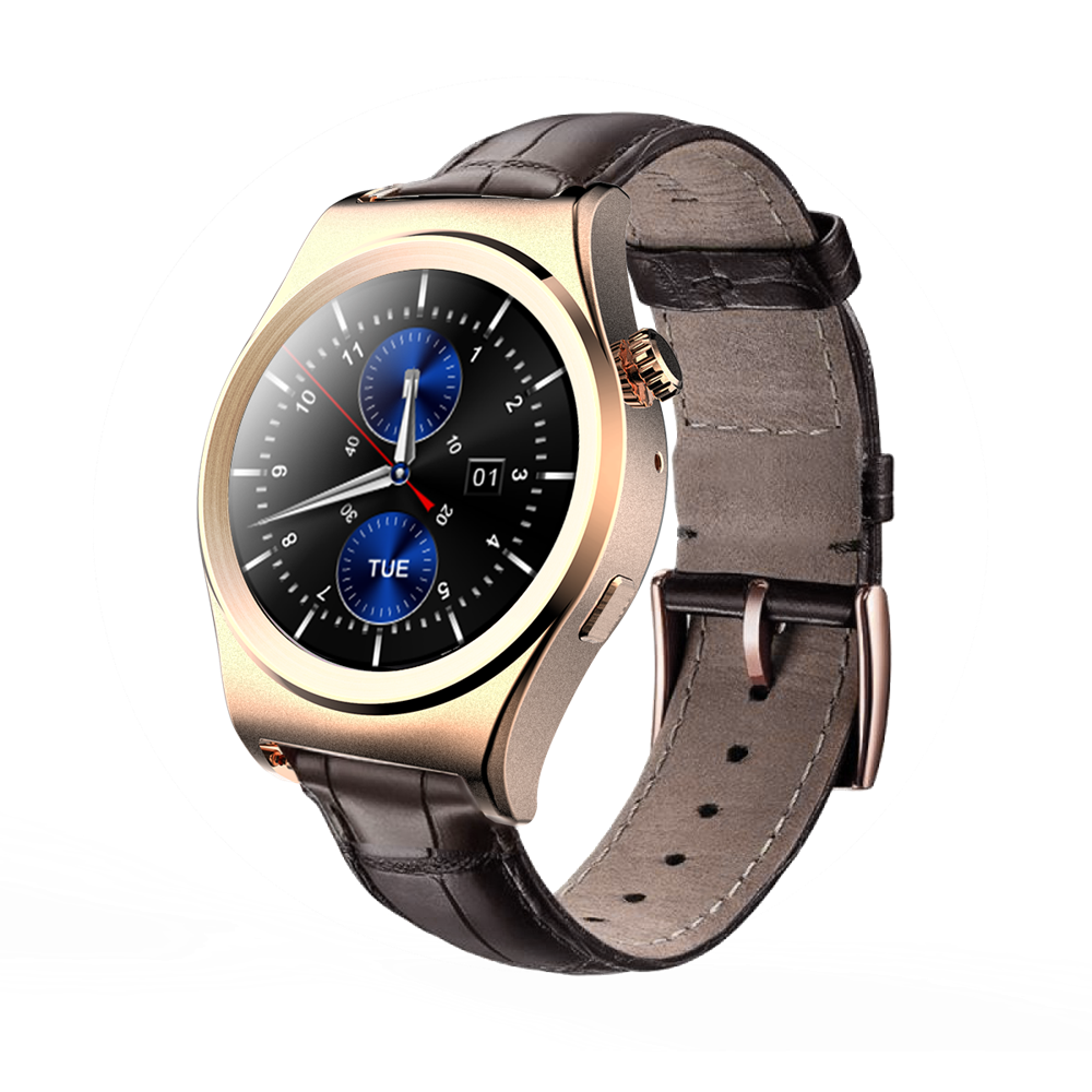 Wristwatches Leather Strap X10 Bluetooth Calorie Counter Heart Rate Monitor Watch for Latest 5g Mobile Phone OEM Watch