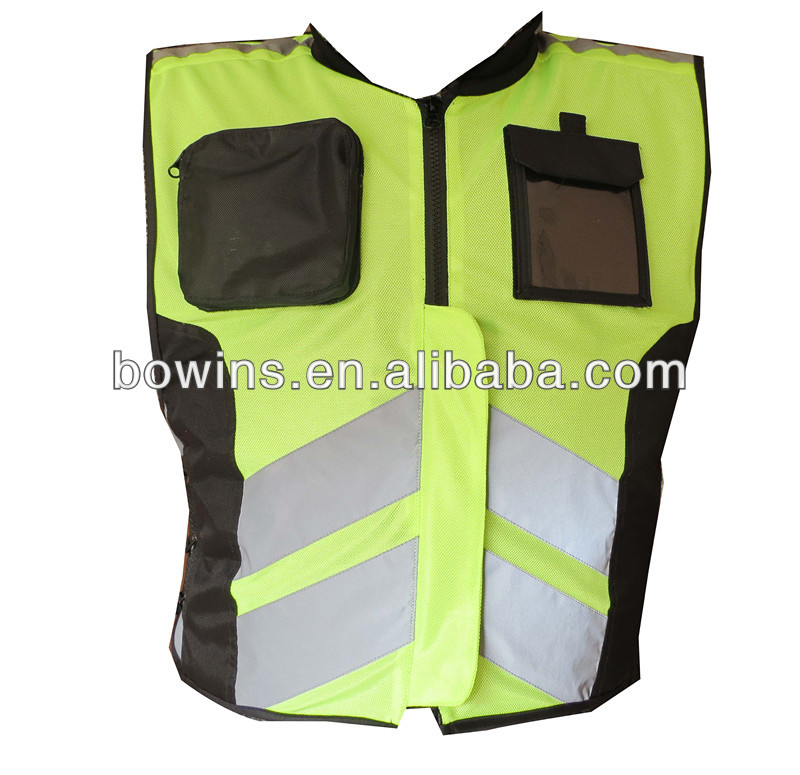 2013 new design motorcycle sleeveless reflective safety vest