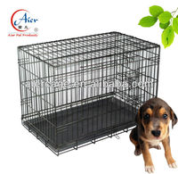 Factory supplier pet cage Folding Dog Cat Crate Cage Kennel