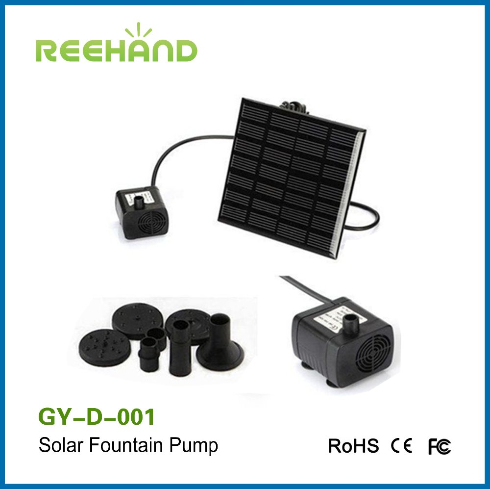 Solar power fountain water pump for garden pool water submersible