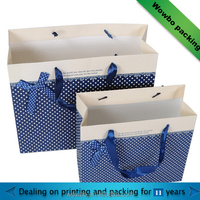 luxury fashion foldable paper gift shopping bags from china supplier